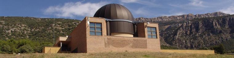 Parc Astronòmic del Montsec, a la Noguera