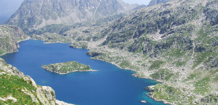 Un llac a la Val d'Aran