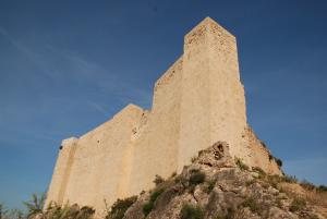 Castell de Miravet, sobre l'Ebre