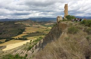 Esllavissada de Puigcercós, a la Conca de Tremp