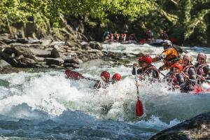 Ràfting a la capçalera del riu Noguera Pallaresa