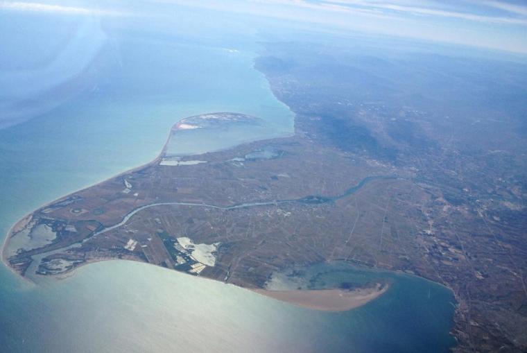 El Delta de l'Ebre, a vista d'ocell