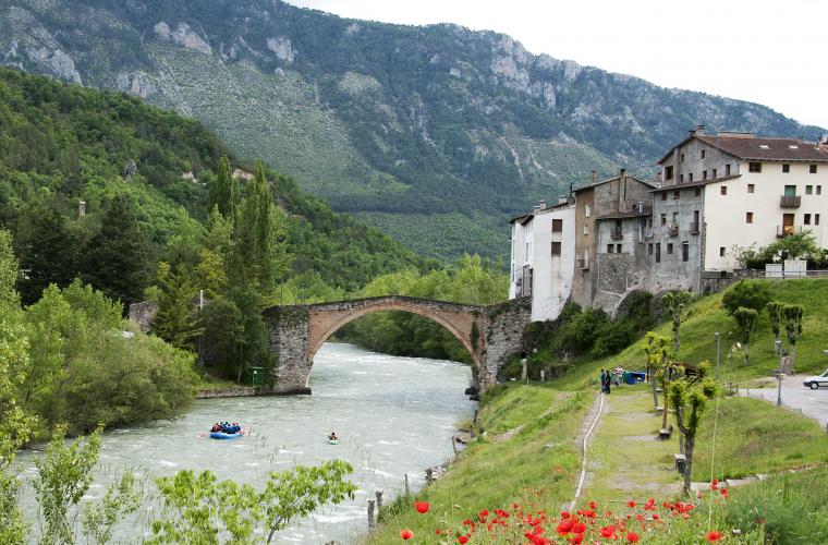 Una imatge típica del Pallars Sobirà.