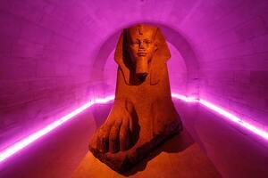 Le tombeau d'un pharaon
