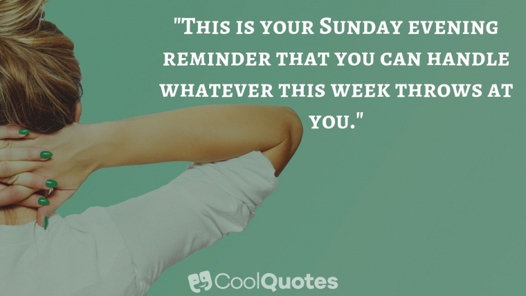 Sunday Picture Quotes