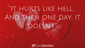 Heartbreak Picture Quotes