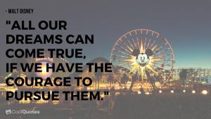 Walt Disney Picture Quotes