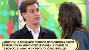Christian Gálvez confirmó el estreno de 'El Tirón' en 'Sálvame Banana'