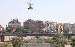 Comença la campanya anual de fumigació de la mosca negra al riu Segre