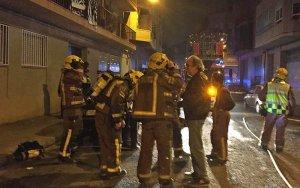 Donats d'alta tots els veïns afectats per l'incendi de dimecres a la nit al carrer Músic Vivaldi