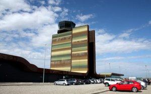 El 61% dels turistes de l'aeroport d'Alguaire són esquiadors