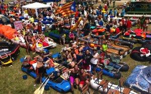 La 31a Transsegre de Balaguer aplega 300 barques i 2.600 tripulants