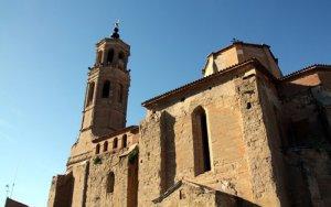 """La Generalitat i el Bisbat de Lleida invertiran 200.000 euros en l'església d'Almenar """"per seguretat"""""""