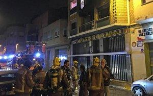 Reallotgen cinc famílies del carrer Músic Vivaldi de Lleida per un incendi