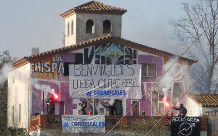 El jutge ordena el desallotjament del Centre Social Okupat 'La Chispa' de Lleida