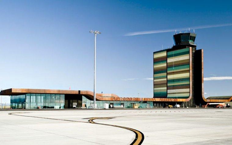 Imatge de l'aeroport de Lleida-Alguaire