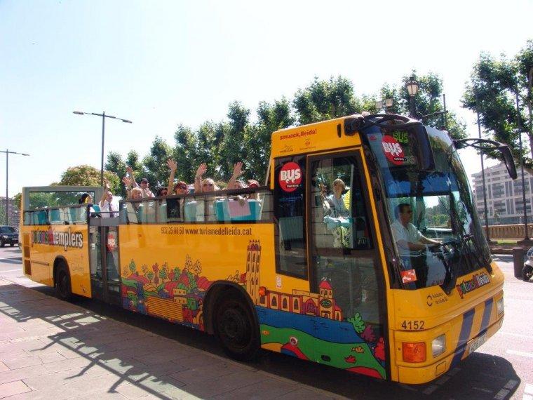 Imatge del bus turístic
