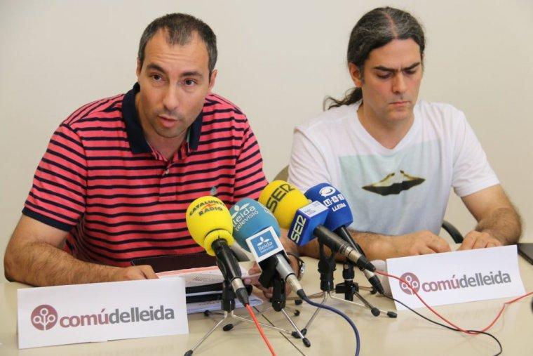 El grup del Comú de Lleida a la Paeria