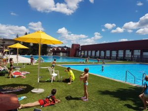 Imatge de les piscines de Soslona