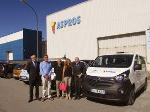 Imatge del cotxe d'Aspros