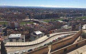 Vista general de la ciutat de Lleida.