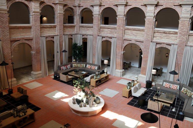 Interior del Parador del Roser de Lleida