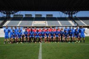 Imatge de la plantilla del Lleida Esportiu