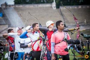 Imatge del campionat del món de tir amb arc