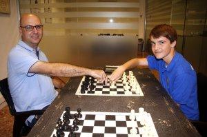 Imatge dels participants a l'Europeu d'Escacs