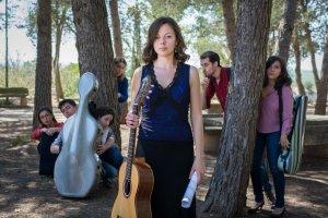 Imatge de la guitarrista lleidatana Laura Fontanals