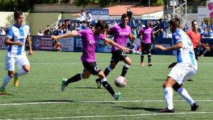 Imatge del Lleida Esportiu contra l'Atlètic Balears