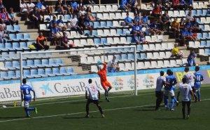 Imatge del partit del Lleida Esportiu