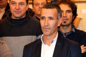 L'alcalde d'Alcarràs, Miquel Serra, en l'últim ple com a diputat