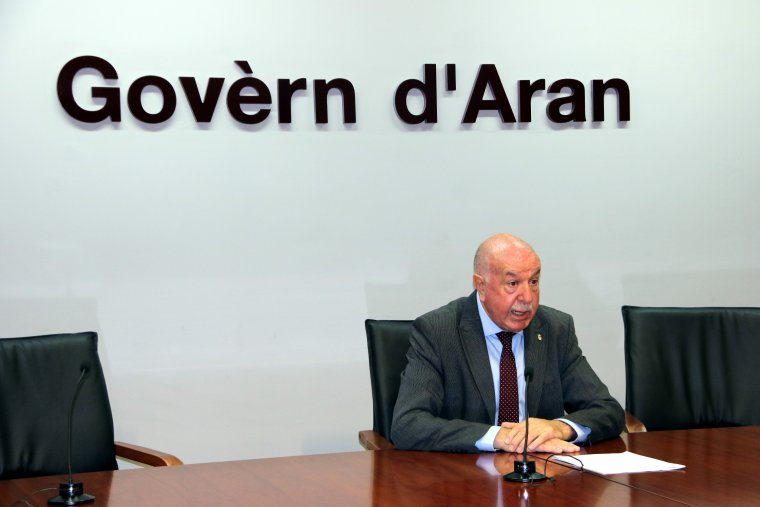 El síndic d'Aran, Carlos Barrera