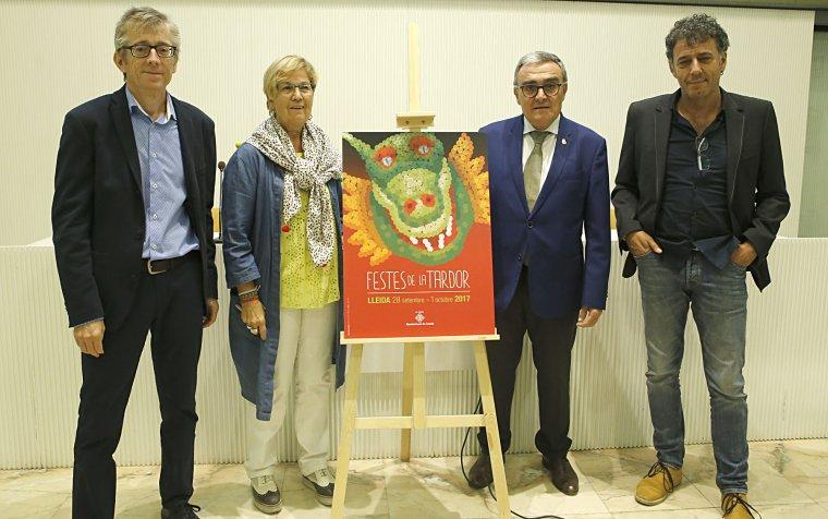 Imatge de la presentació de les Festes de la Tardor