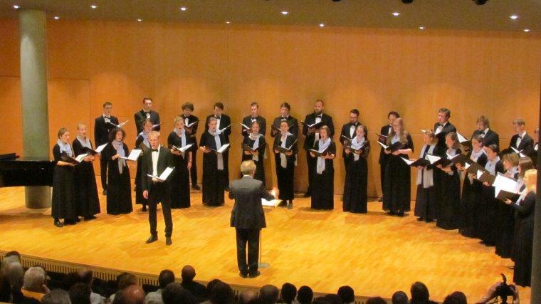 Imatge del concert a l'Auditori Enric Granados de Lleida