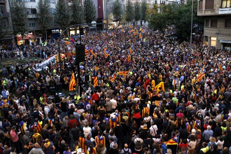La concentració ha agrupat milers de persones.