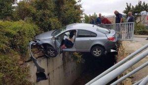 Imatge de l'accident a Àger