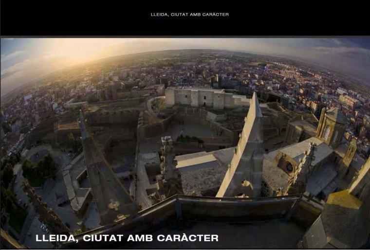 Imatge aèria de Lleida