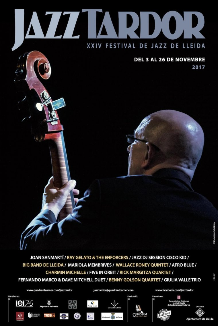 Imatge del cartell de Jazz Tardor