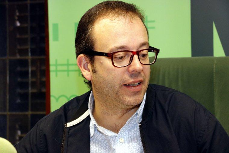 L'alcalde de Mollerussa, Marc Solsona