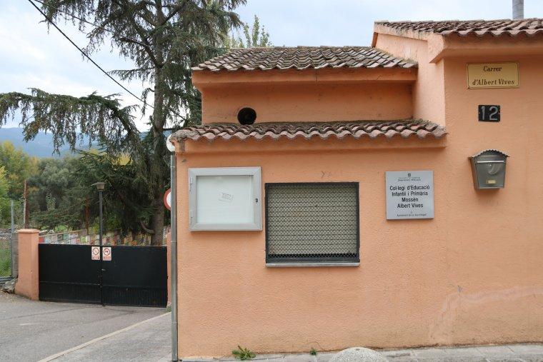 L'escola Albert Vives de la Seu d'Urgell.