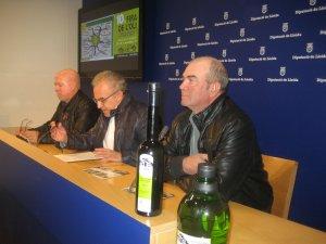 Imatge de la presentació de la Fira de l'Oli de Juncosa aquest dilluns a la Diputació de Lleida