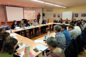 Imatge de la reunió del Consell Escolar de Lleida