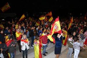La comitiva es va dirigir fins a la caserna de la Guàrdia Civil de Lleida