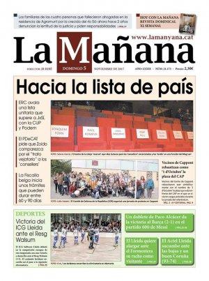 La Manyana, 5 de novembre