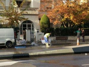 Tècnics municipals han treballat en l'incident.