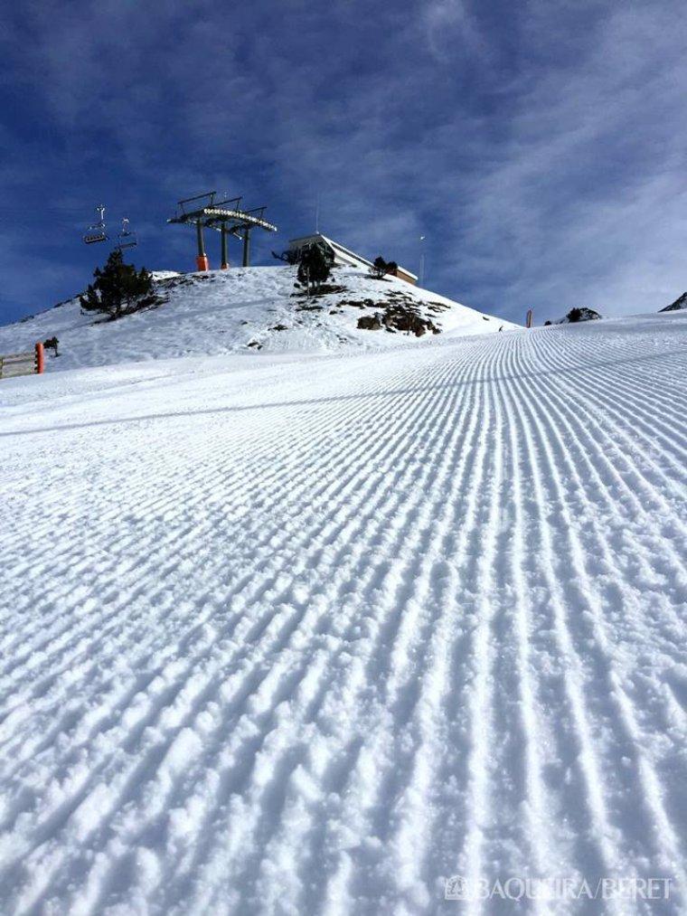 Baqueira Beret va iniciar la temporada blanca el passat 18 de novembre.