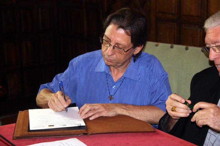 El pare Joan Sunyol, de la Fundació Arrels-Sant Ignasi