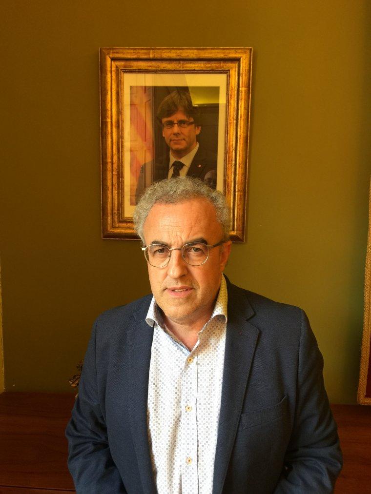 Enric Mir, alcaldes de les Borges Blanques